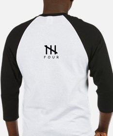 Four Letter Word Baseball Jersey
