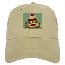 Sock Monkey Angel Devil Baseball Cap
