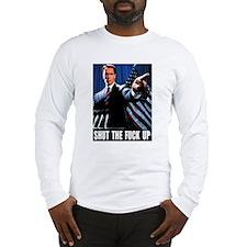 The Govenator Speaks Long Sleeve T-Shirt