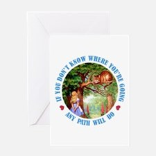 AMY PATH WILL DO Greeting Card