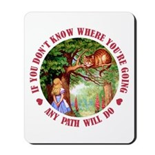 AMY PATH WILL DO Mousepad