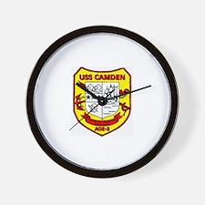 USS Camden AOE 2 Wall Clock