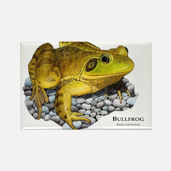 Bullfrog Rectangle Magnet