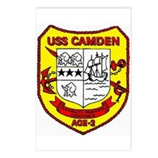 USS Camden AOE 2 Postcards (Package of 8)