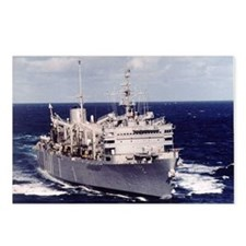USS Camden AOE 2 Ship's Image Postcards (Package o