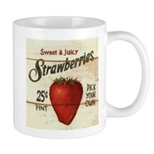 Pick Your Own Strawberries Mug