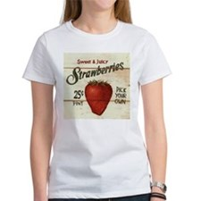 Pick Your Own Strawberries Tee