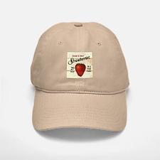 Pick Your Own Strawberries Baseball Baseball Cap