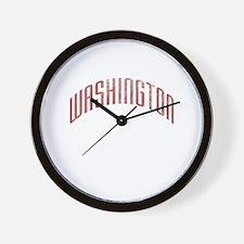 Washington Grunge Wall Clock