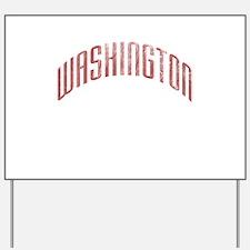 Washington Grunge Yard Sign