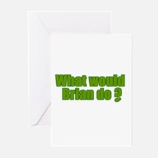 Would Brian Do Irish Rugby Humour Greeting Cards (
