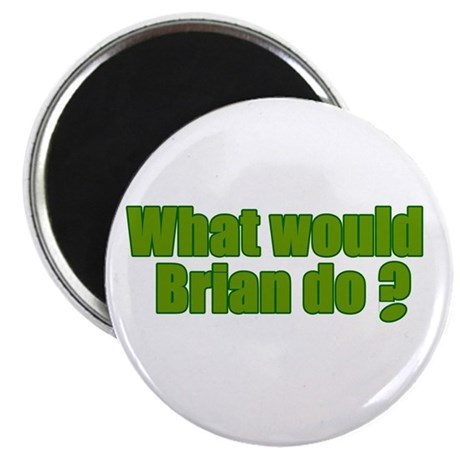 Would Brian Do Irish Rugby Humour Magnet