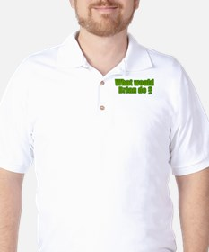 Would Brian Do Irish Rugby Humour Golf Shirt
