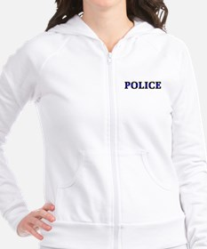 Police Blue Line Fitted Hoodie