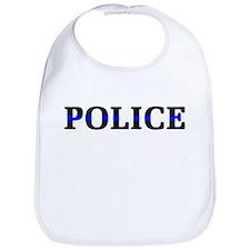 Police Blue Line Bib