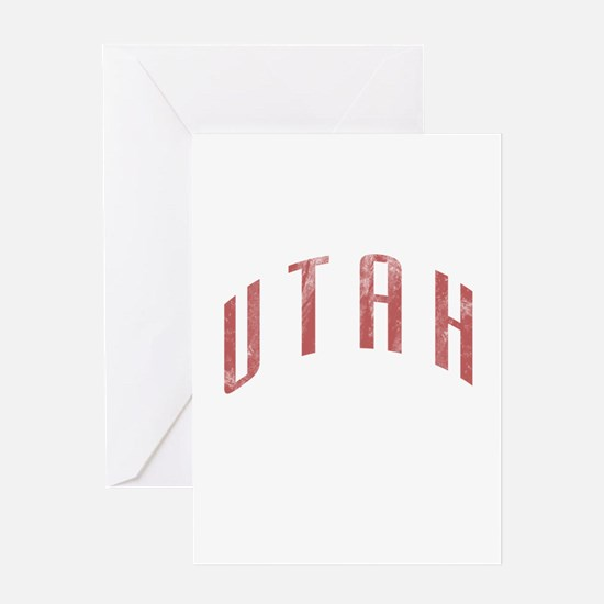 Utah Grunge Greeting Card