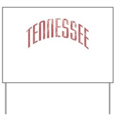Tennessee grunge Yard Sign