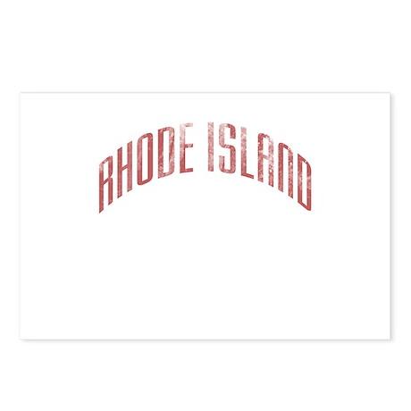Rhode Island Grunge Postcards (Package of 8)
