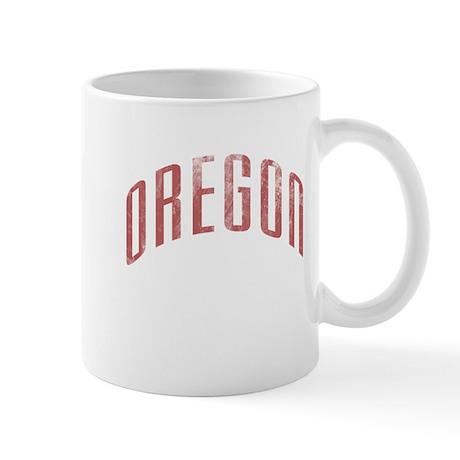 Oregon Grunge Mug