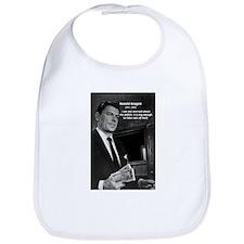 Political Humor Ronald Reagan Bib