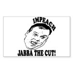 Impeach Christie Sticker (Rectangle)