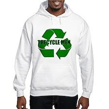 I Recycle Men Hoodie