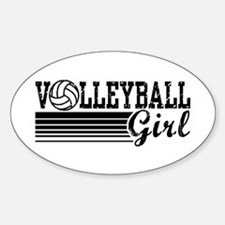 Volleyball Girl Decal