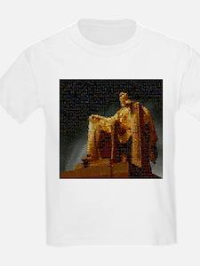 Lincoln Memorial Mosaic T-Shirt