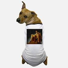 Lincoln Memorial Mosaic Dog T-Shirt