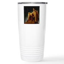 Lincoln Memorial Mosaic Travel Mug