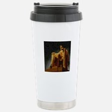 Lincoln Memorial Mosaic Travel Mug