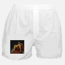 Lincoln Memorial Mosaic Boxer Shorts