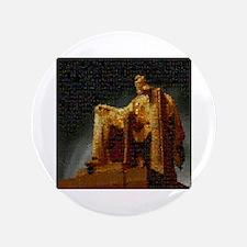 "Lincoln Memorial Mosaic 3.5"" Button"