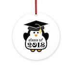 Penguin Class of 2018 Ornament (Round)