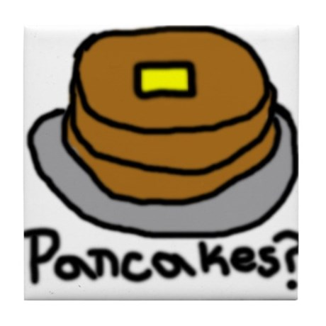 Pancakes? Tile Coaster