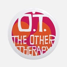 The Other Therapy Ornament (Round)