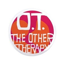 "The Other Therapy 3.5"" Button"