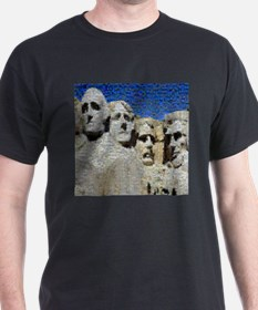 Mount Rushmore Photo Mosaic T-Shirt