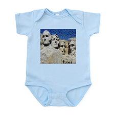 Mount Rushmore Photo Mosaic Infant Bodysuit