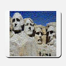 Mount Rushmore Photo Mosaic Mousepad