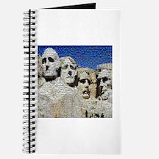 Mount Rushmore Photo Mosaic Journal