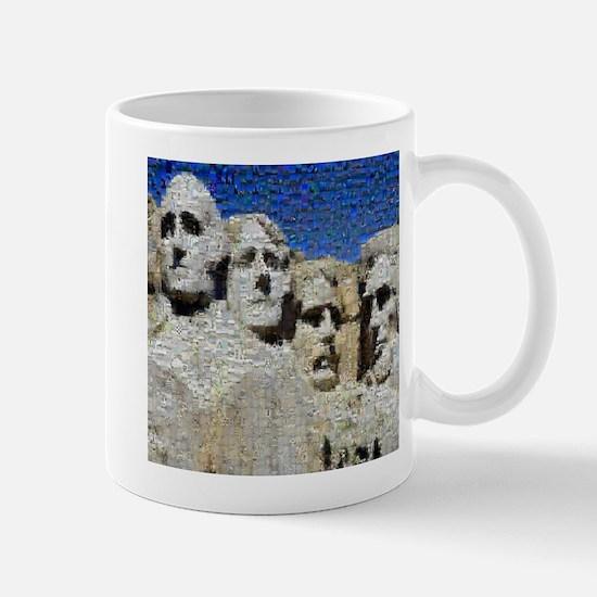 Mount Rushmore Photo Mosaic Mug