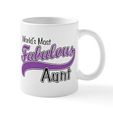 Fabulous Aunt Small Mug