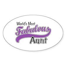 Fabulous Aunt Decal