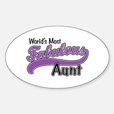 Fabulous Aunt Decal