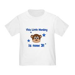 Little Monkey is 3! T