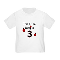 Little Lady Is 3! T