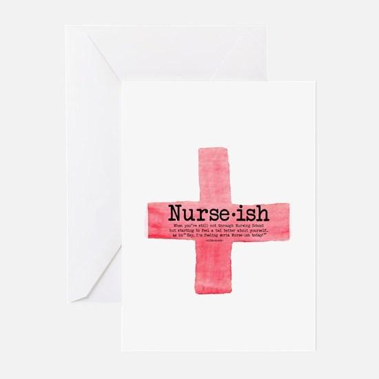 Nurse ish Student Nurse Greeting Cards (Pk of 10)