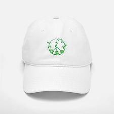 Green Peace Baseball Baseball Cap