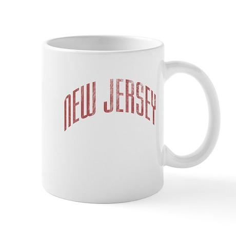 New Jersey Grunge Mug